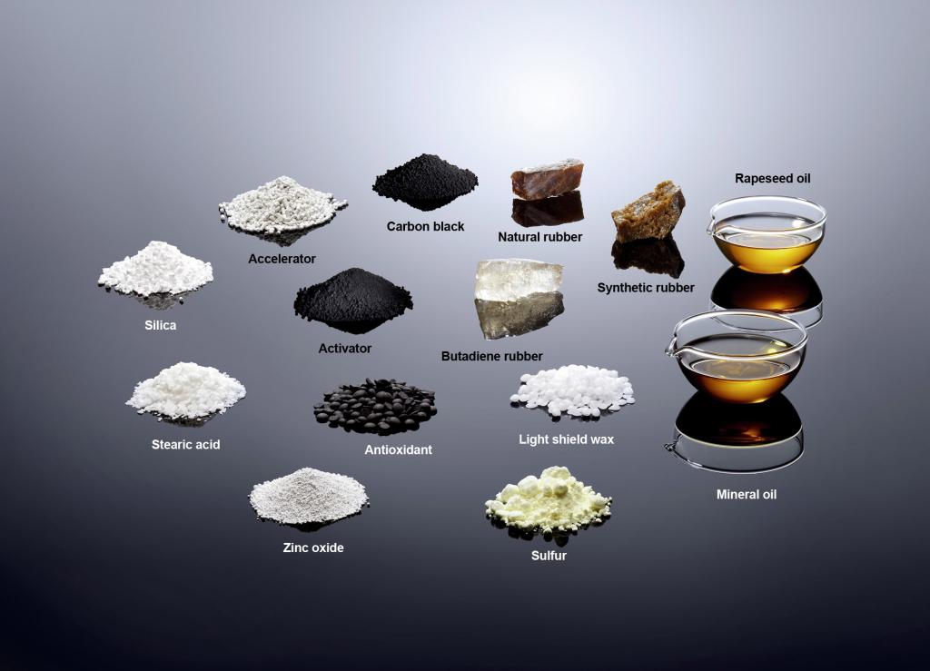 Tyre ingredients